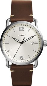 Fossil THE COMMUTER 3H DATE FS5275 Herrenarmbanduhr Sehr gut ablesbar