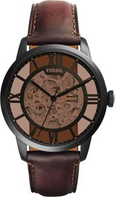 Fossil TOWNSMAN ME3098 Uhr Offene Unruhe