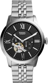 Fossil TOWNSMAN ME3107 Uhr Offene Unruhe