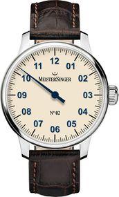 MeisterSinger No 02 AM6603N Elegante Herrenuhr Zeitloses Design