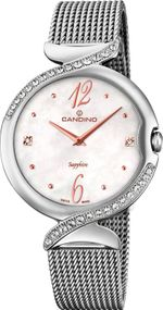 Candino Elegance Flair C4611/1 Damenarmbanduhr Swiss Made