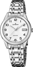 Candino Elegance Flair C4615/1 Damenarmbanduhr Swiss Made