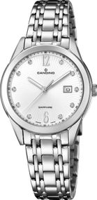 Candino Elegance Flair C4615/2 Damenarmbanduhr Swiss Made