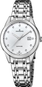 Candino Elegance Flair C4615/3 Damenarmbanduhr Swiss Made