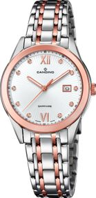 Candino Elegance Flair C4617/2 Damenarmbanduhr Swiss Made
