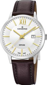 Candino Classic Timeless C4618/2 Herrenarmbanduhr Swiss Made
