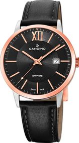 Candino Classic Timeless C4620/1 Herrenarmbanduhr Swiss Made