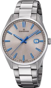 Candino Classic Timeless C4621/2 Herrenarmbanduhr Swiss Made
