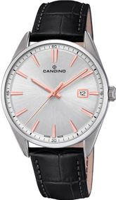 Candino Classic Timeless C4622/1 Herrenarmbanduhr Swiss Made