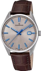 Candino Classic Timeless C4622/2 Herrenarmbanduhr Swiss Made