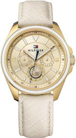 Tommy Hilfiger Multifunktion 1781806 Damenarmbanduhr Design Highlight