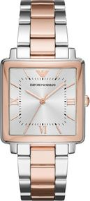 Emporio Armani 3 ZEIGER AR11066 Damenarmbanduhr Design Highlight