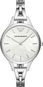 Emporio Armani 2 ZEIGER AR11054 Damenarmbanduhr Design Highlight