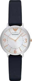 Emporio Armani 2 ZEIGER AR2509 Damenarmbanduhr Design Highlight