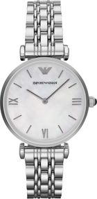 Emporio Armani 2 ZEIGER AR1682 Damenarmbanduhr Design Highlight
