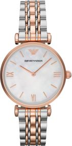 Emporio Armani 2 ZEIGER AR1683 Damenarmbanduhr Design Highlight