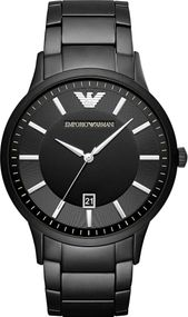 Emporio Armani 3 ZEIGER DATUM AR11079 Herrenarmbanduhr Design Highlight