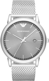 Emporio Armani 3 ZEIGER DATUM AR11069 Herrenarmbanduhr Design Highlight