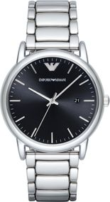 Emporio Armani 3 ZEIGER DATUM AR2499 Herrenarmbanduhr Design Highlight