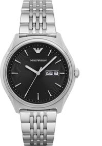 Emporio Armani 3 ZEIGER DATUM AR1977 Herrenarmbanduhr Design Highlight