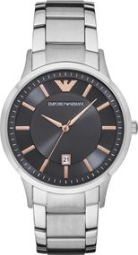 Emporio Armani 3 ZEIGER DATUM AR2514 Herrenarmbanduhr Design Highlight
