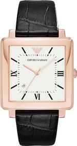 Emporio Armani 3 ZEIGER DATUM AR11075 Herrenarmbanduhr Design Highlight