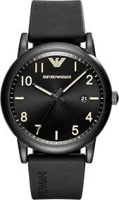 Emporio Armani 3 ZEIGER DATUM AR11071 Herrenarmbanduhr Design Highlight