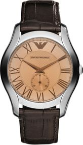 Emporio Armani 3 ZEIGER  AR1704 Herrenarmbanduhr Design Highlight