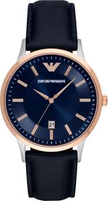Emporio Armani 3 ZEIGER DATUM AR2506 Herrenarmbanduhr Design Highlight