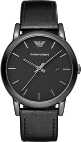 Emporio Armani 3 ZEIGER DATUM AR1732 Herrenarmbanduhr Design Highlight