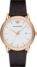Emporio Armani 3 ZEIGER AR2502 Herrenarmbanduhr Design Highlight