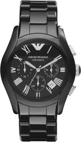 Emporio Armani Chronograph AR1400 Herrenchronograph Design Highlight