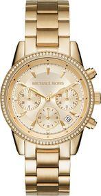 Michael Kors RITZ MK6356 Damenchronograph Mit Zirkonen