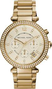 Michael Kors PARKER MK5354 Damenchronograph Mit Zirkonen