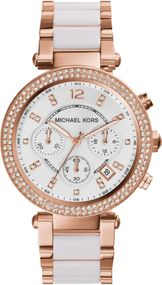 Michael Kors PARKER MK5774 Damenchronograph Mit Zirkonen