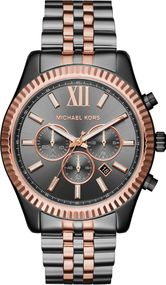 Michael Kors LEXINGTON MK8561 Herrenchronograph Massiv gearbeitet