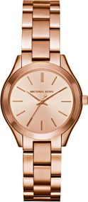 Michael Kors MINI SLIM RUNWAY MK3513 Damenarmbanduhr Design Highlight