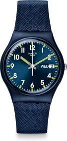 Swatch SIR BLUE GN718 Unisexuhr Design Highlight