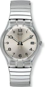 Swatch SILVERALL L GM416A Unisexuhr Design Highlight