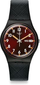 Swatch SIR RED GB753 Unisexuhr Design Highlight