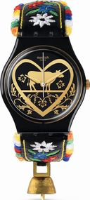 Swatch DIE GLOCKE GB285 Unisexuhr Design Highlight