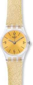 Swatch GOLDENDESCENT LK351C Damenarmbanduhr Design Highlight