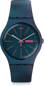 Swatch NEW GENTLEMAN SUON708 Herrenarmbanduhr Design Highlight