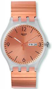Swatch ROSTFREI S SUOK707B Herrenarmbanduhr Design Highlight