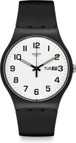 Swatch TWICE AGAIN SUOB705 Unisexuhr Design Highlight