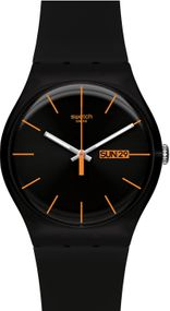 Swatch DARK REBEL SUOB704 Unisexuhr Design Highlight