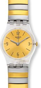 Swatch ENILORAC S LK351B Damenarmbanduhr Design Highlight