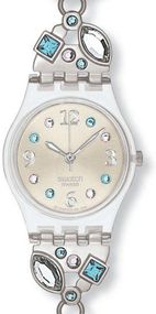 Swatch MENTHOL TONE LK292G Damenarmbanduhr Design Highlight