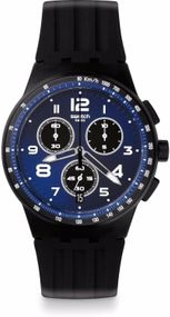 Swatch NITESPEED SUSB402 Herrenchronograph Design Highlight