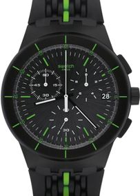 Swatch LASER TRACK SUSB409 Herrenchronograph Design Highlight